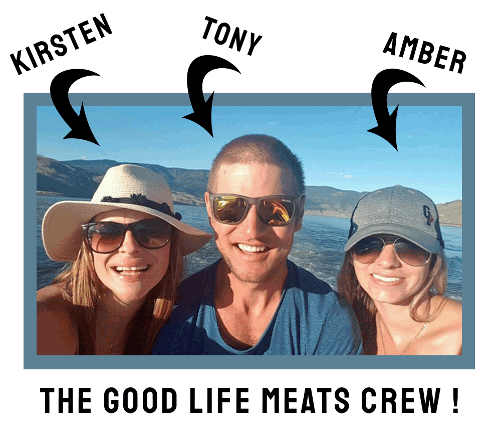 Kirsten, Tony, and Amber from Good Life Meats, the best premium quality beef jerky and pepperoni